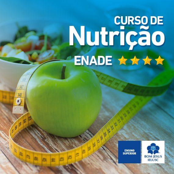 Curso de Nutrição conquista Conceito Forte no ENADE